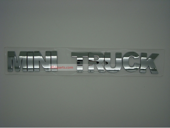 "Picture of Badge Rear Tail Board ""Mini Truck"""