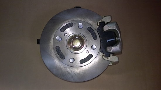 Picture of Left Front  Hub Assembly.