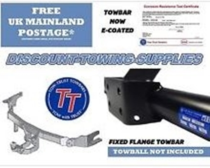 Picture of Tow Bar Assembly Fits Van/Minibus.. UK Manufactured