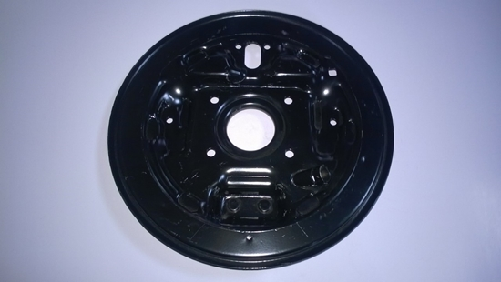 Picture of Rear Brake Backplate Right (Early NON European Models)