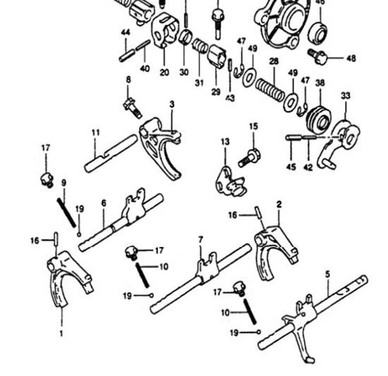 Picture of Gearbox High Speed Selector Fork