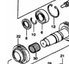 Picture of Gearbox Input Shaft Seal