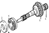 Picture of Input Shaft Repair Kit 1000cc Engine