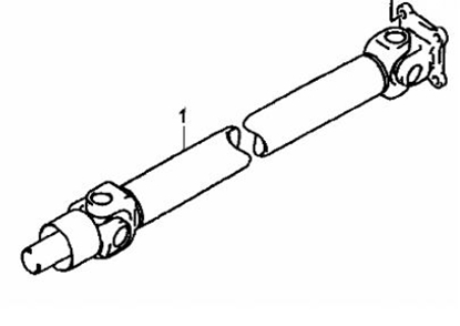 Picture of Rear Propshaft 1000cc