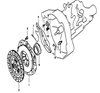 Picture of Clutch Kit 4 Parts 1300cc Engine