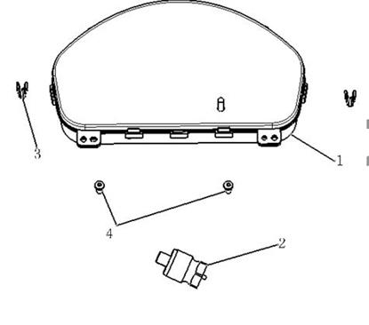 Picture of Pinch Bolt Locking Type Speedometer Gearbox Sensor 1000cc Engine.