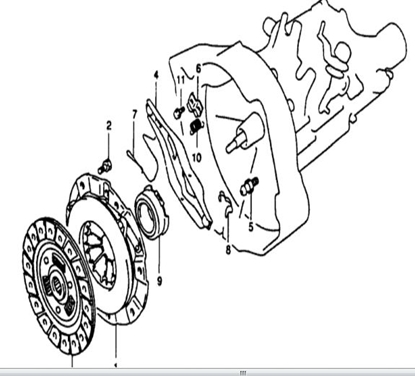 Picture of Clutch Release Fork Repair Kit