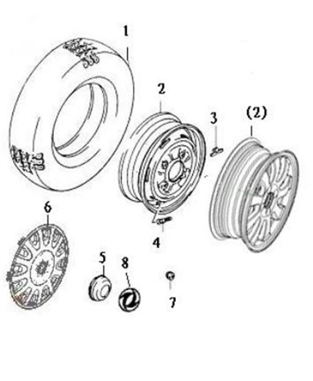 Picture of Road Wheel (14 Inch)