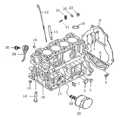 Picture of Engine Oil Dipstick 1000cc Engine