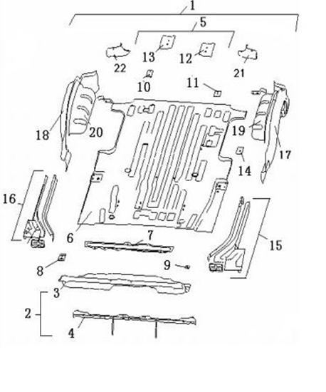 Picture of Rear Body Panel Van Minibus