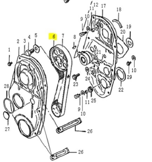 Picture of Engine Camshaft Timing Wheel