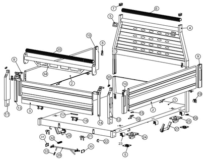 Picture of Cucini 3 Way Tipper Parts